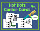 Hot Dots Literacy Center Cards - Set 1 {to use with Hot Do