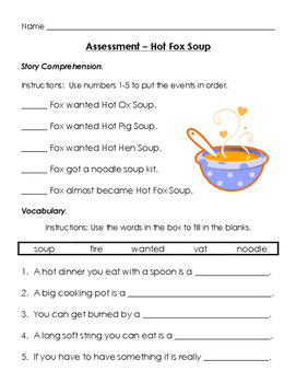 Hot Fox Soup