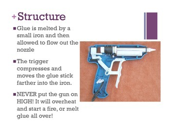 Hot Glue Gun Safety Unit