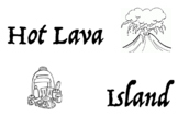 Hot Lava Island Physical Education Game