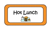 Hot Lunch, Home Lunch