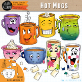 Hot Mugs Clip Art