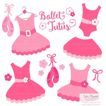 Hot Pink Clipart - Ballet Tutus, Ballet Clipart