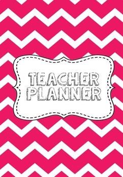 Hot Pink Teacher Planner
