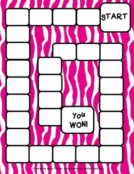 Hot Pink and Black Game Boards