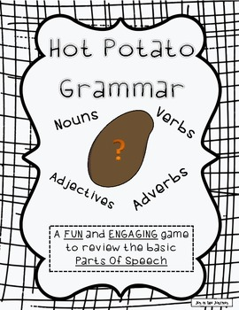 """Hot Potato Grammar"" Freebie"