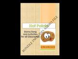 Hot Potato  Bilingual MP3, Lyrics & activity BUNDLE. English & Spanish
