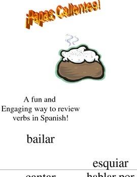 Hot Potato/Papas Calientes For Verbs