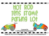 Hot Rod Tens Frame Parking Lot-Differentiated, Self-Correcting CCSS
