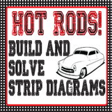 Hot Rods- Strip Diagrams with Cuisenaire Rods Station Activity