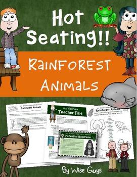 Hot Seating: Rainforest Animals