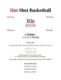 Hot Shot Basketball Flyer/Mini Poster