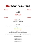 Hot Shot Basketball Flyer/Mini Poster