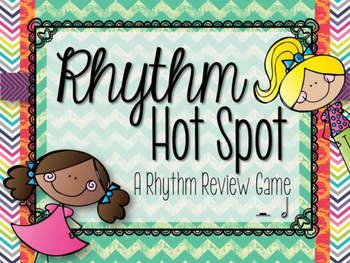 Hot Spot: A Half Note/Rest Review Game