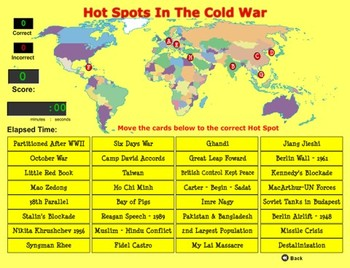 Hot Spots in the Cold War Game Review  - Revised - Bill Burton