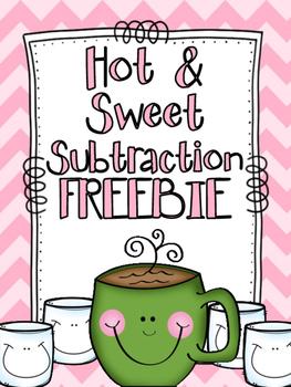 Hot & Sweet Subtraction FREEBIE