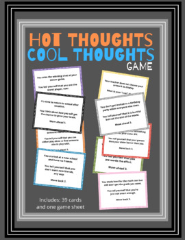 Hot Thoughts, Cool Thoughts Game
