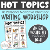 Hot Topics - Ideas I Can Write About