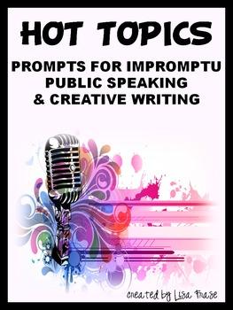 Impromptu speech writing