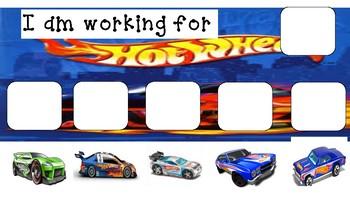 Hot Wheels Token Board