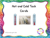 Hot and Cold Independent Task Cards