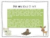Hot and Cold O sort (long and short o)