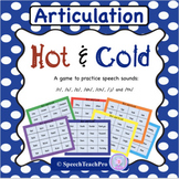 Hot and Cold - R,S,Z,SH,CH,J,TH