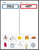 Hot and Cold Sort and Center
