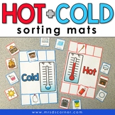 Hot and Cold Sorting Mats [2 mats included] | Hold and Col