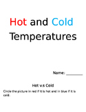 Hot and Cold Temperatures Unit Booklet