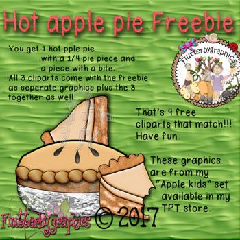 Hot apple pie Freebie