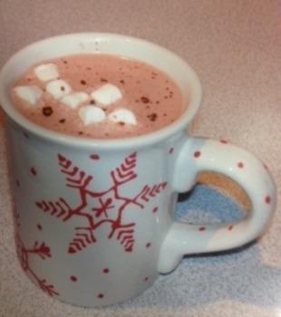 Hot chocolate /r/ sentences
