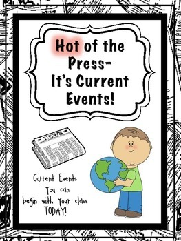 Current Events for Elementary Schoolers!