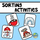 Hot or Cold???  A Sorting Activity