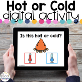 Hot or Cold? - Digital Activity - Distance Learning for Sp