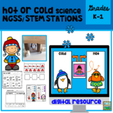 Hot or Cold Science  NGSS STEM Pack