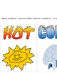Hot or Cold Sorting Activity