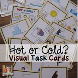 Hot or Cold? Visual Task Cards for Special Education