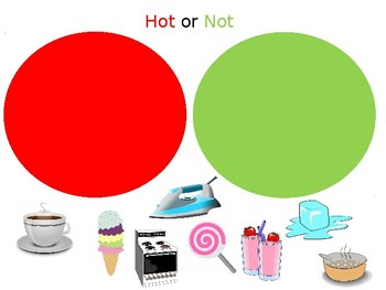 Hot or Not INTERACTIVE Sorting Activity - Health