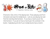 Hot or Not? Temperature and Thermometers