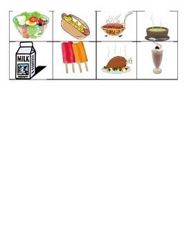 Hot or cold foods sort