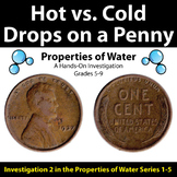 Hot vs. Cold Drops on a Penny - Properties of Water Invest