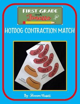 Hotdog Contraction Match