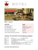 Hotel ESL Worksheet