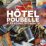 Hotel Poubelle reading in French