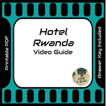 Hotel Rwanda (2004) Video Movie Guide (Rwandan Genocide)