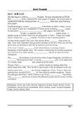 Hotel Rwanda - Plot Summary as Cloze Test