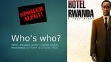 Hotel Rwanda Viewing Guide, Rwandan Genocide Preview Activity, & Lesson Ideas