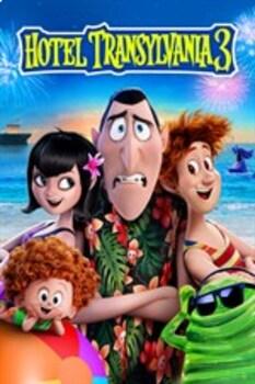 Hotel Transylvania 3: Summer Vacation Movie Questions for Music Education Elem.
