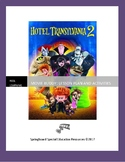 Hotel Transylvania 2: Movie Buddy, Lesson Plan and Activities